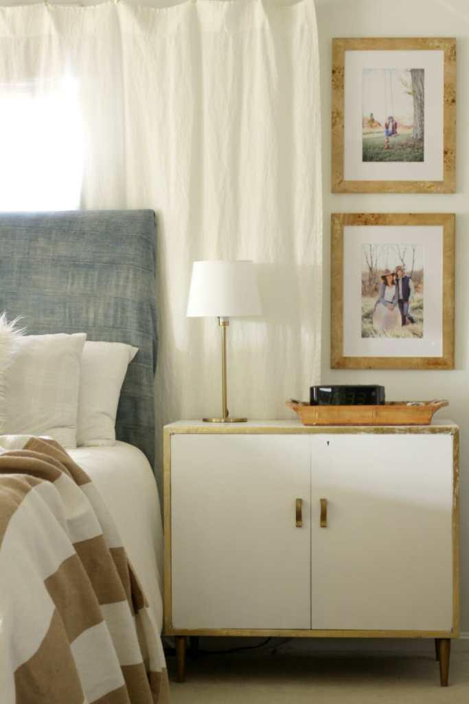 Midcentury Boho Bedroom