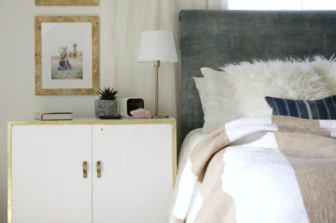 Framed Family Photos: Adding Weight, Color, and Texture to My Nightstands with Framebridge