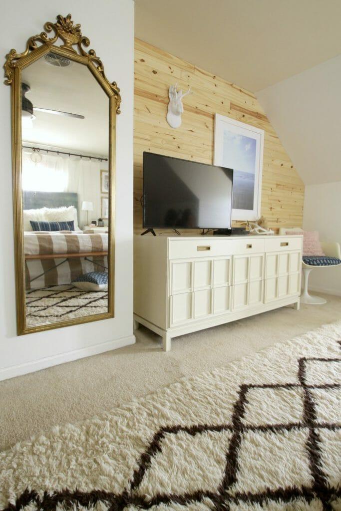 Modern Boho bedroom Wall