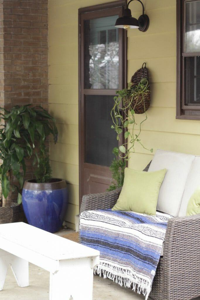 Spring Porch Entry
