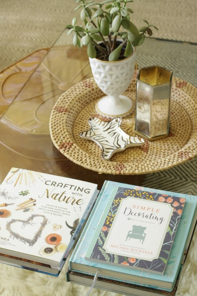 Coffee Table Spring Decor