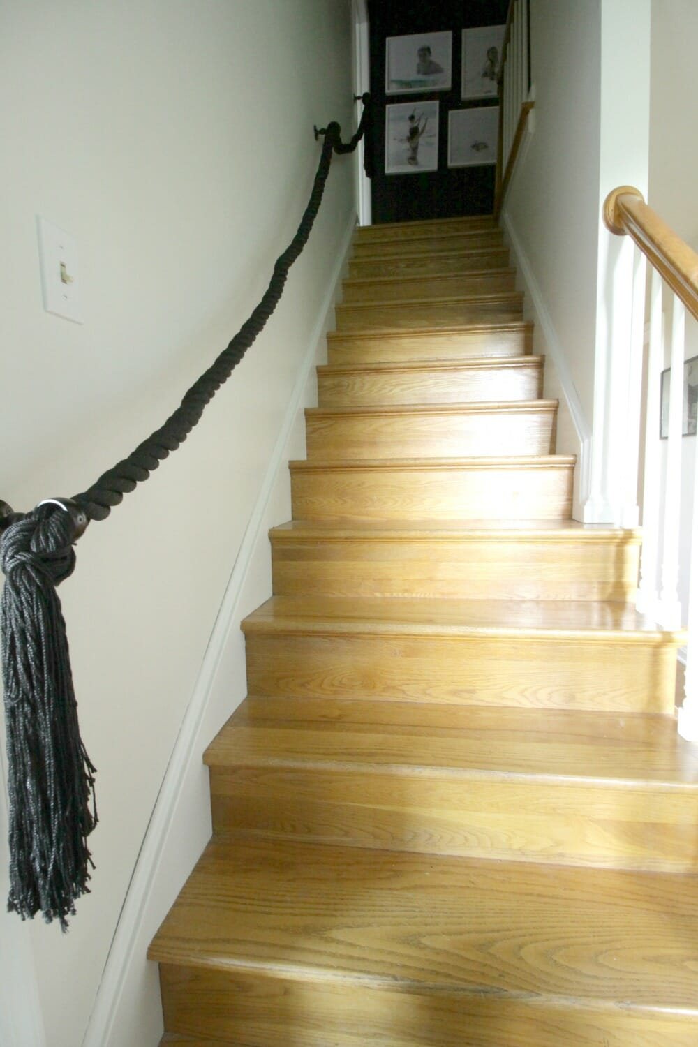 Very best DIY Rope Stair Railing - Cassie Bustamante PX03
