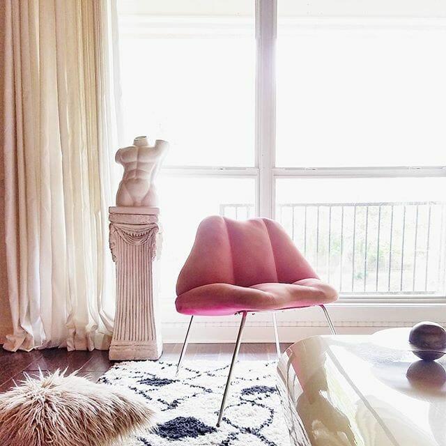 Rosie Case Lip Chair