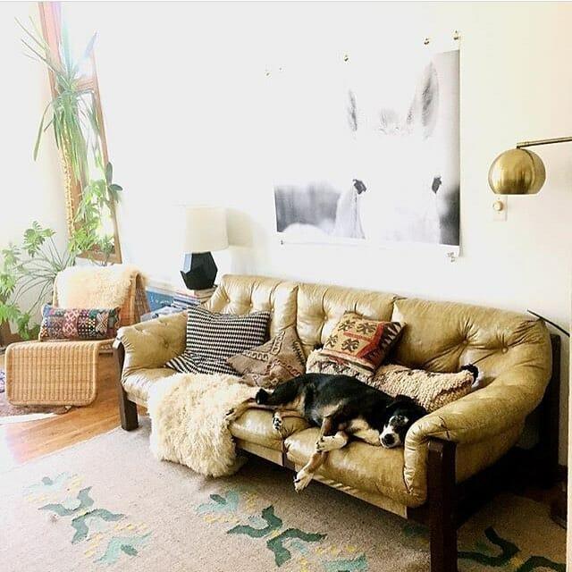Watassa Leather Sofa