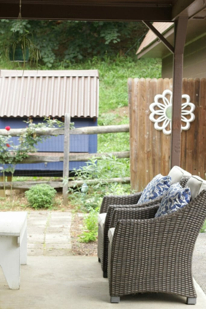 Summer Patio Seating- Target Belvedere Chairs