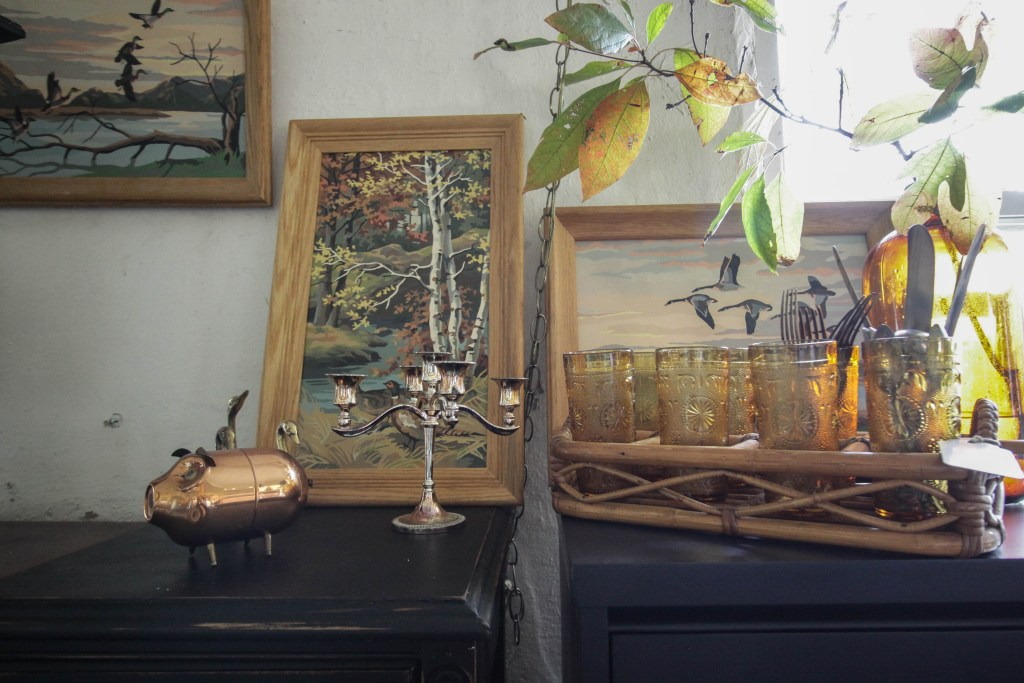 Paint by numbers at Sweet Clover