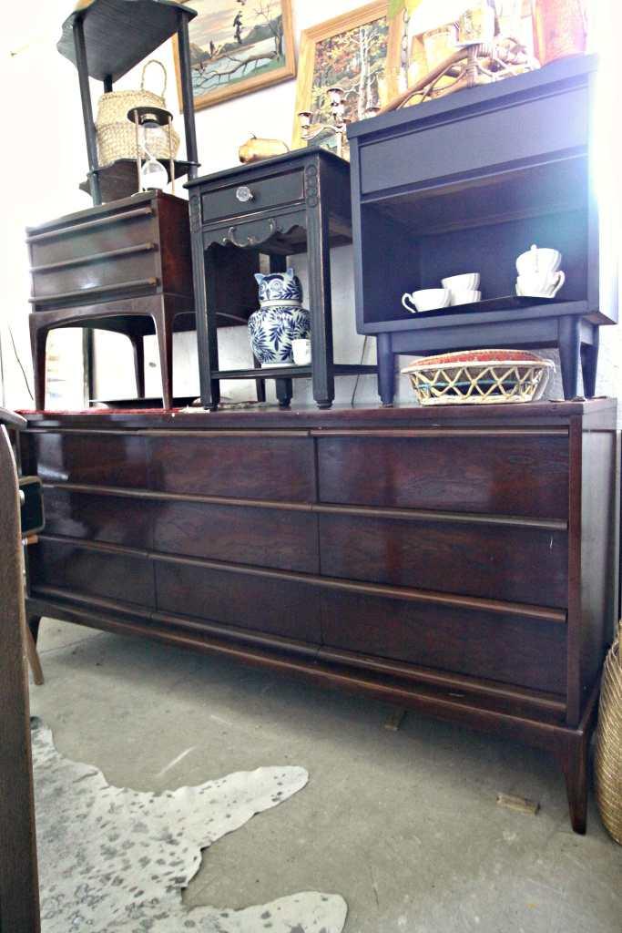 Gorgeous Rich Midcentury Dresser