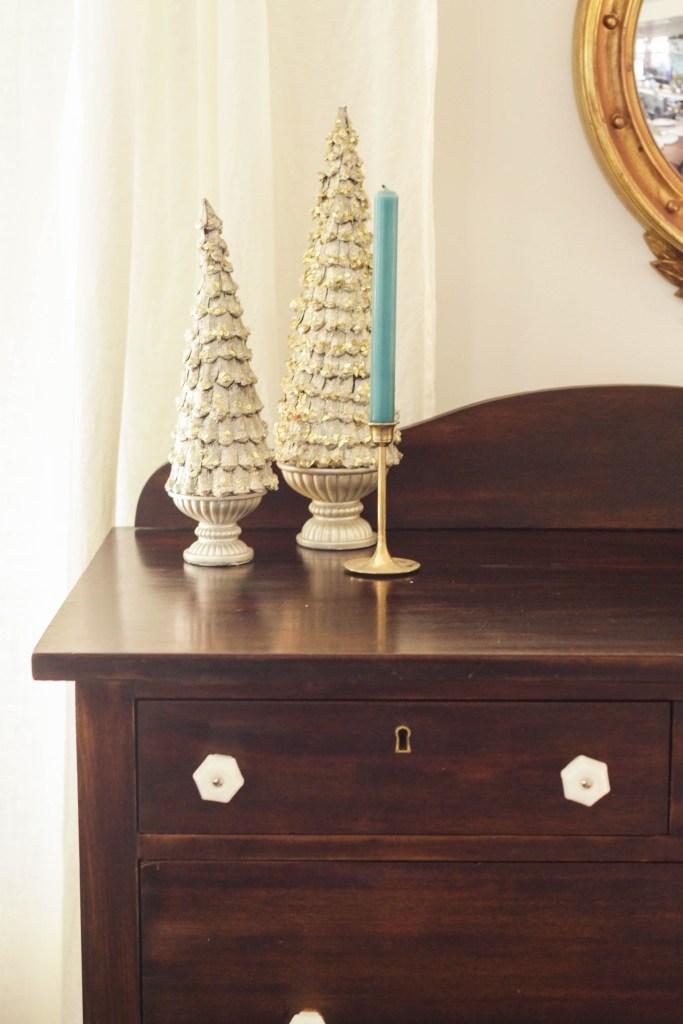 Wood Dresser makeover- super easy!