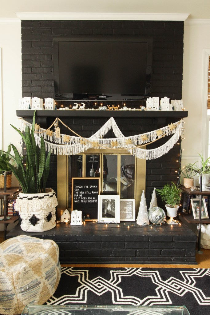Eclectic Christmas Home Tour Part 1: Master Bedroom, Guest Room, Living Room & Staircase