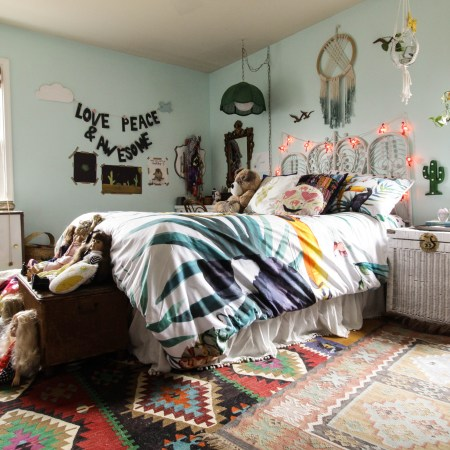 Bohemian Eclectic Girl's Room One Year Later: Embracing(ish) Your Maximalist Child's Style