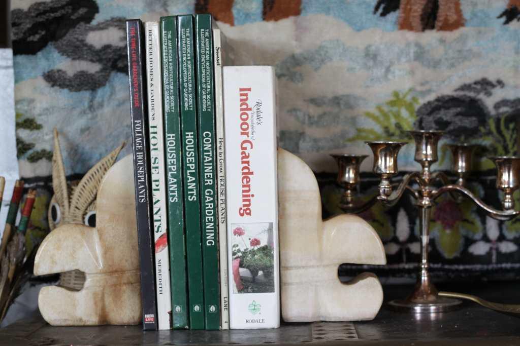 Vintage houseplant books