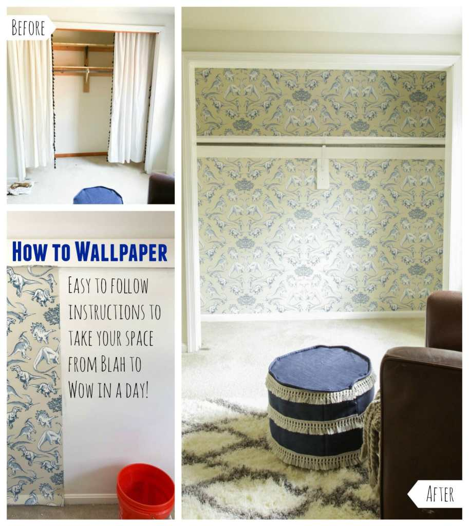Easy Wallpaper Instructions