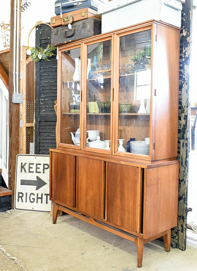 Midcentury Hutch at Sweet Clover