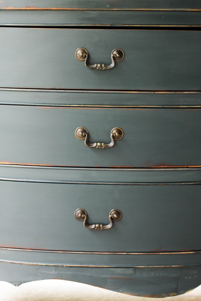 Teal Custom Mi General Finishes Paint Dresser