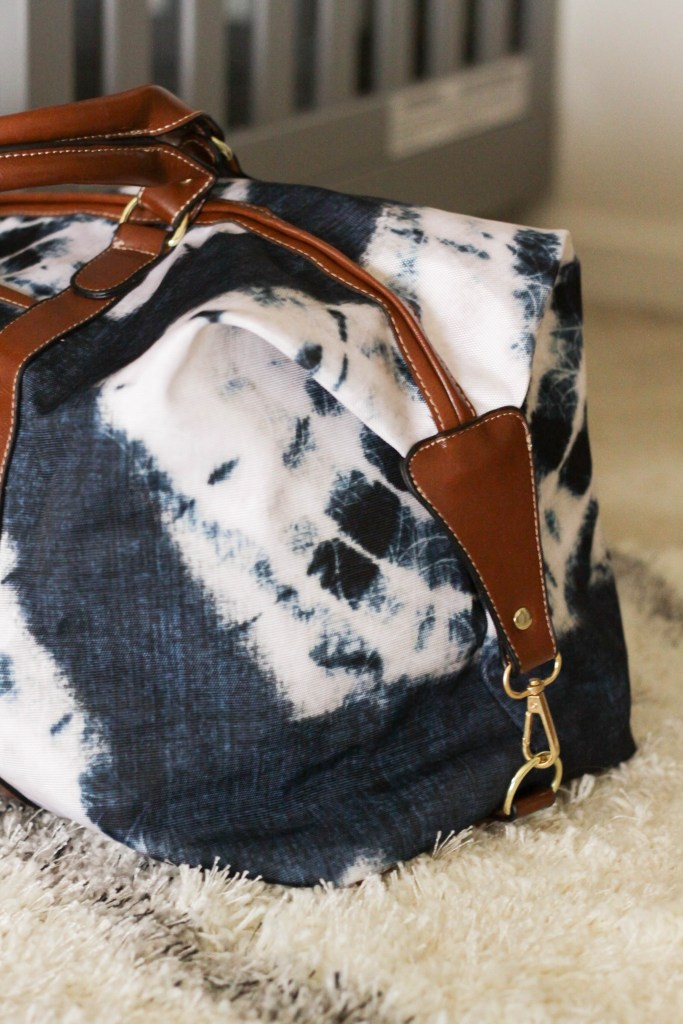 boho luxe travel bag