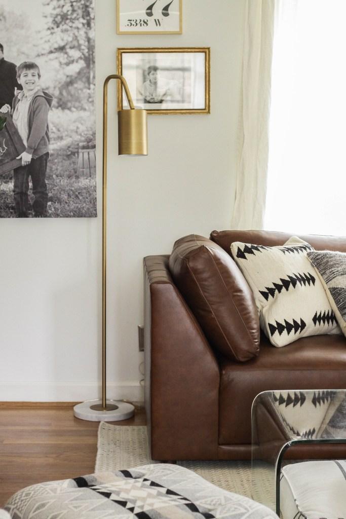 Midcentury inspired floor lamp