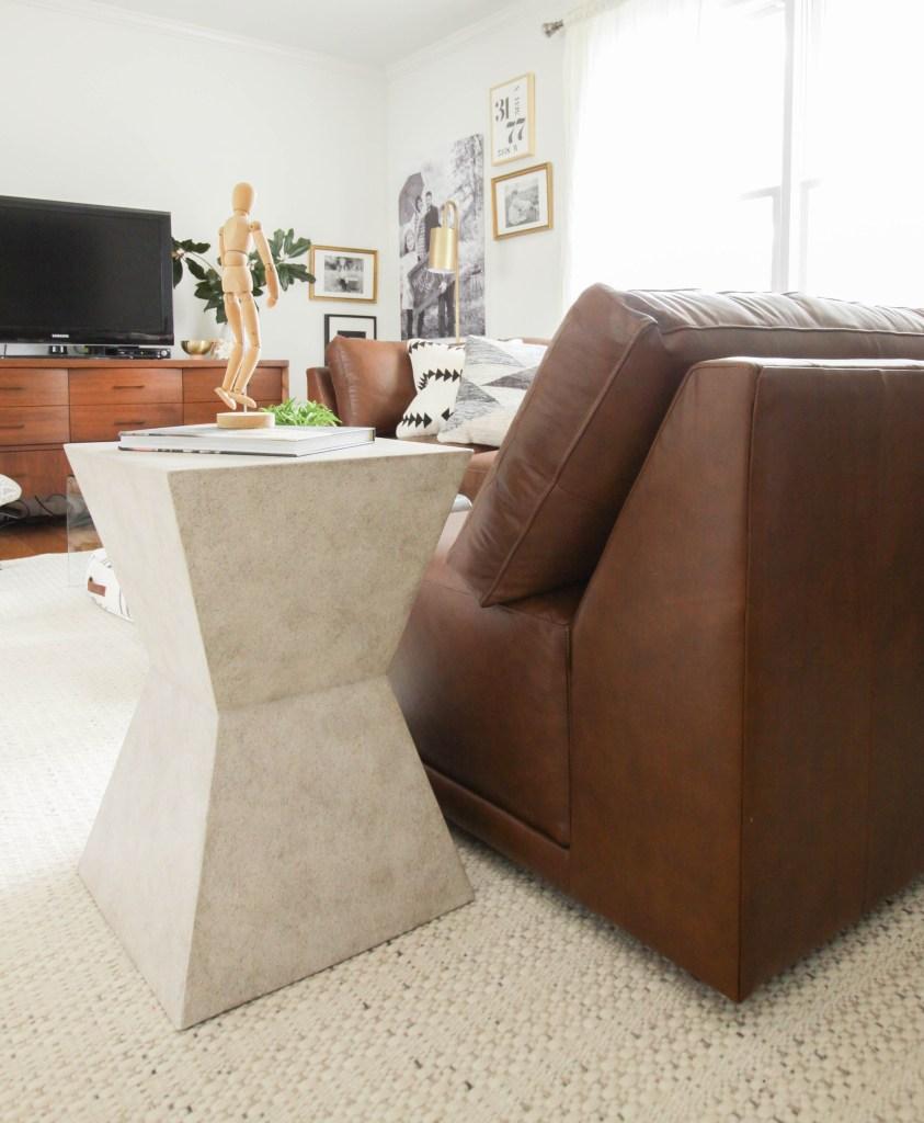 Bassett Furniture modern side table