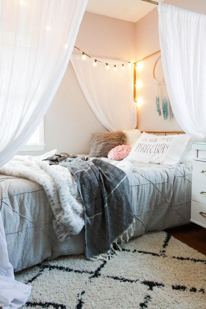 Tween Gray Bedding