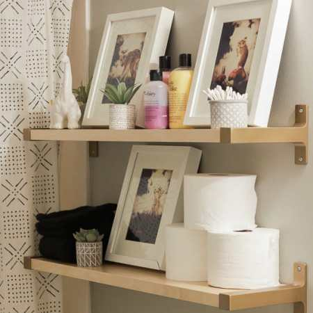 Ikea Hack Bathroom Shelves