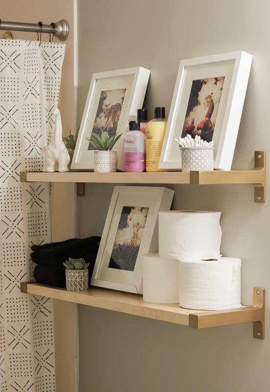 Ikea Hack Bathroom Shelves