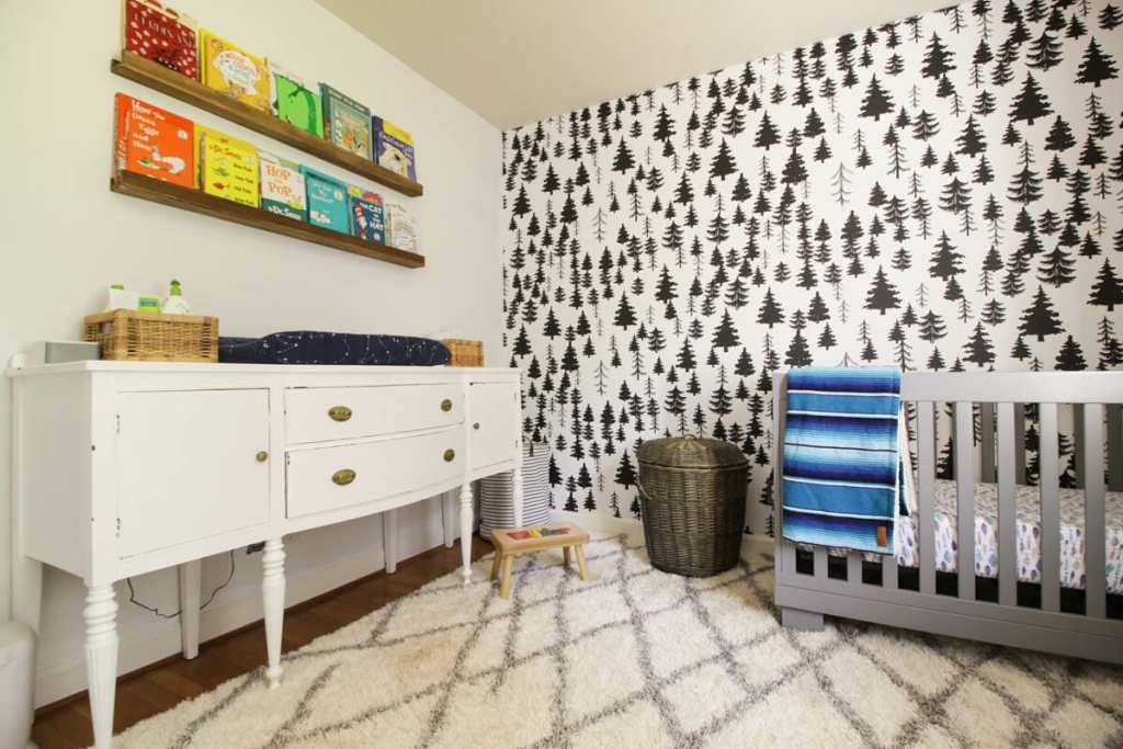 Gender Neutral White Nursery