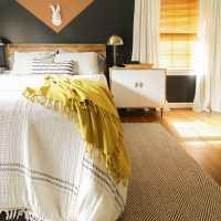 The Best Budget Custom Wood Blinds: Master Bedroom Update