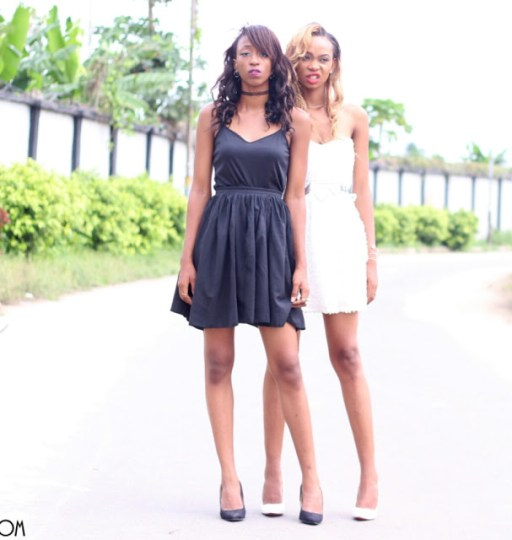 cc95b7c4f How To Take Your Little Black/White Dress From Day - Night || Cassie