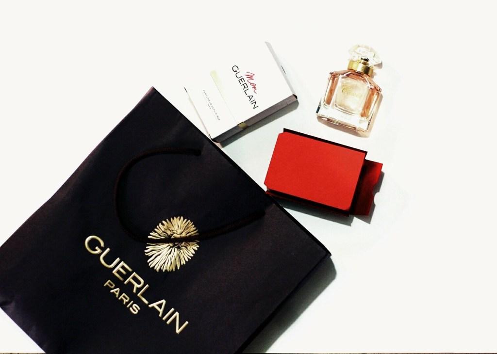 Mon Guerlain Perfume review, what mon guerlain perfume looks like unboxed
