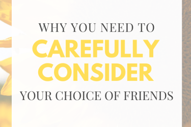 One Major Reason to Choose Your Friends Wisely