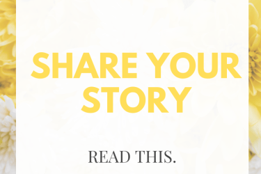 Why You Need to Share Your Story