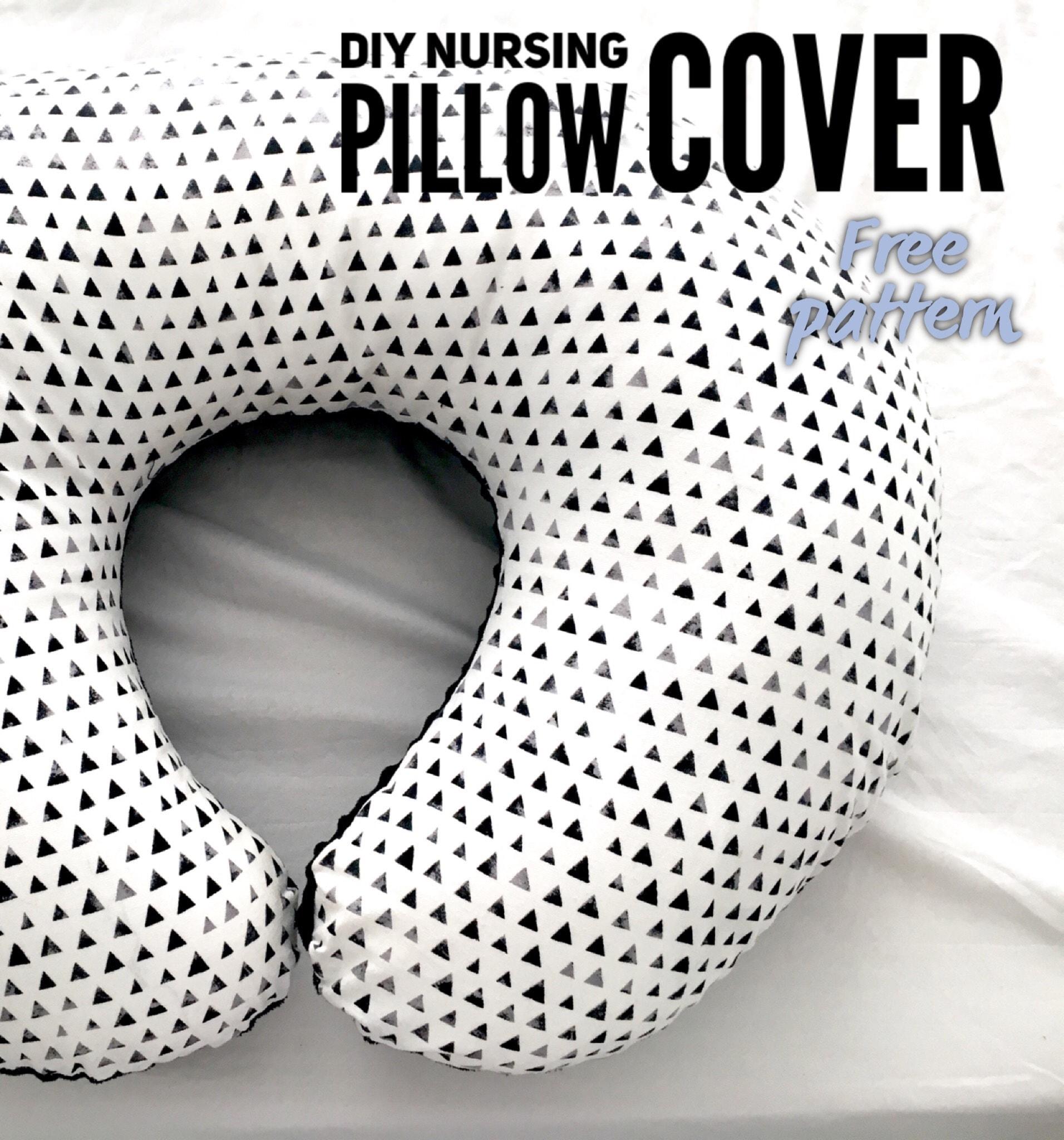 diy nursing pillow cover cassie scroggins
