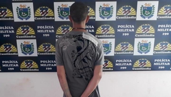 Foragido é preso pela Polícia Militar em Cassilândia