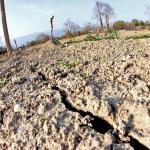 Sulla provincia di Frosinone il 50% di pioggia in meno