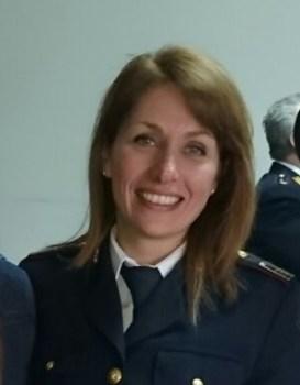 Sovrintendente Capo Erika Gasperini del Commissariato di Cassino