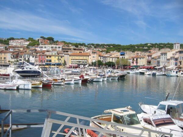 Im Hafen von Cassis (Südfrankreich)