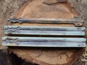 Ricostruzione della spada in bronzo di Piverone - Ricostruzione di una capanna del primo neolitico tipo Alba - centro archeologia sperimentale torino