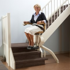Stair Lift Chair Alera Elusion Manual Straight Stairlifts Handicare