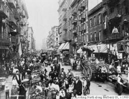 Immigrant neighborhood, New York City