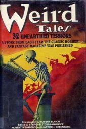Weird Tales 32 Unearthed Terrors