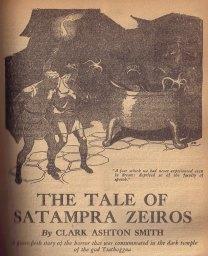Tale of Satampra Zeiros