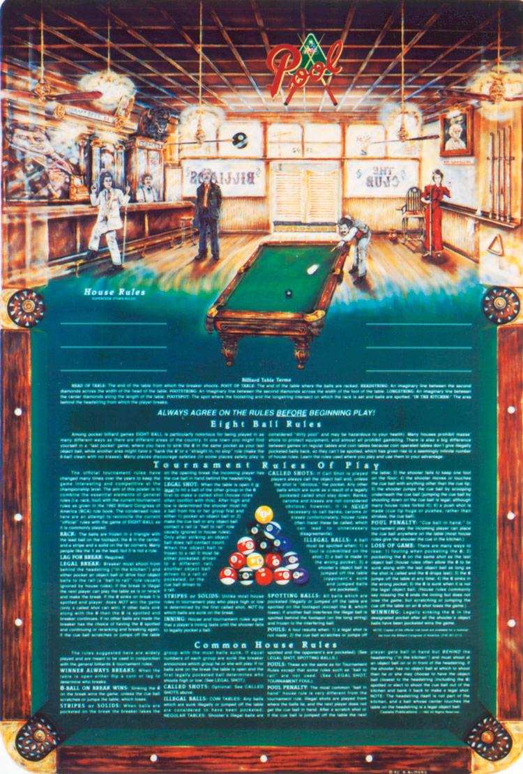 8 ball pool rules pdf