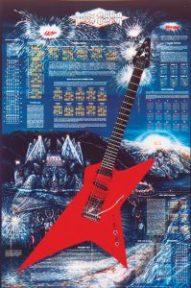 The Rock Guitar Poster™