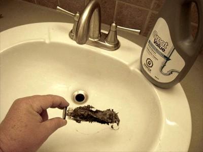 Bathroom Sink Clog