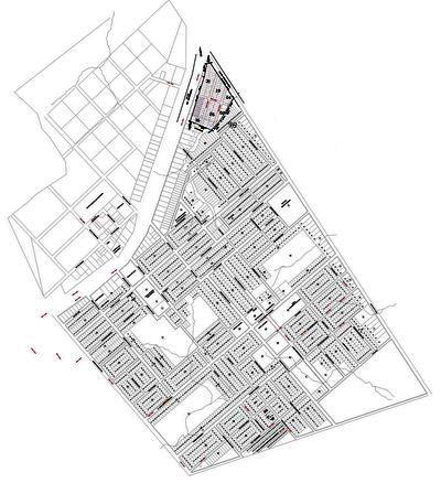 Mapa da Cidade de Castanheira - MT
