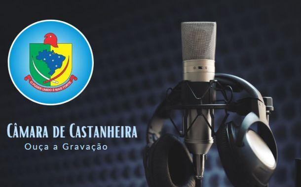 Áudio da 18ª Sessão Ordinária de 2019