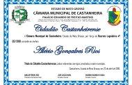 Título de Cidadão ao Srº ALÉCIO GONÇALVES RIOS