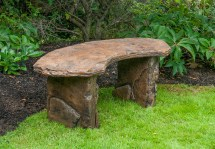 Fossil Bench - Curved Castart