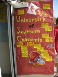 Porter College Door Decorating Contest 018  California ...