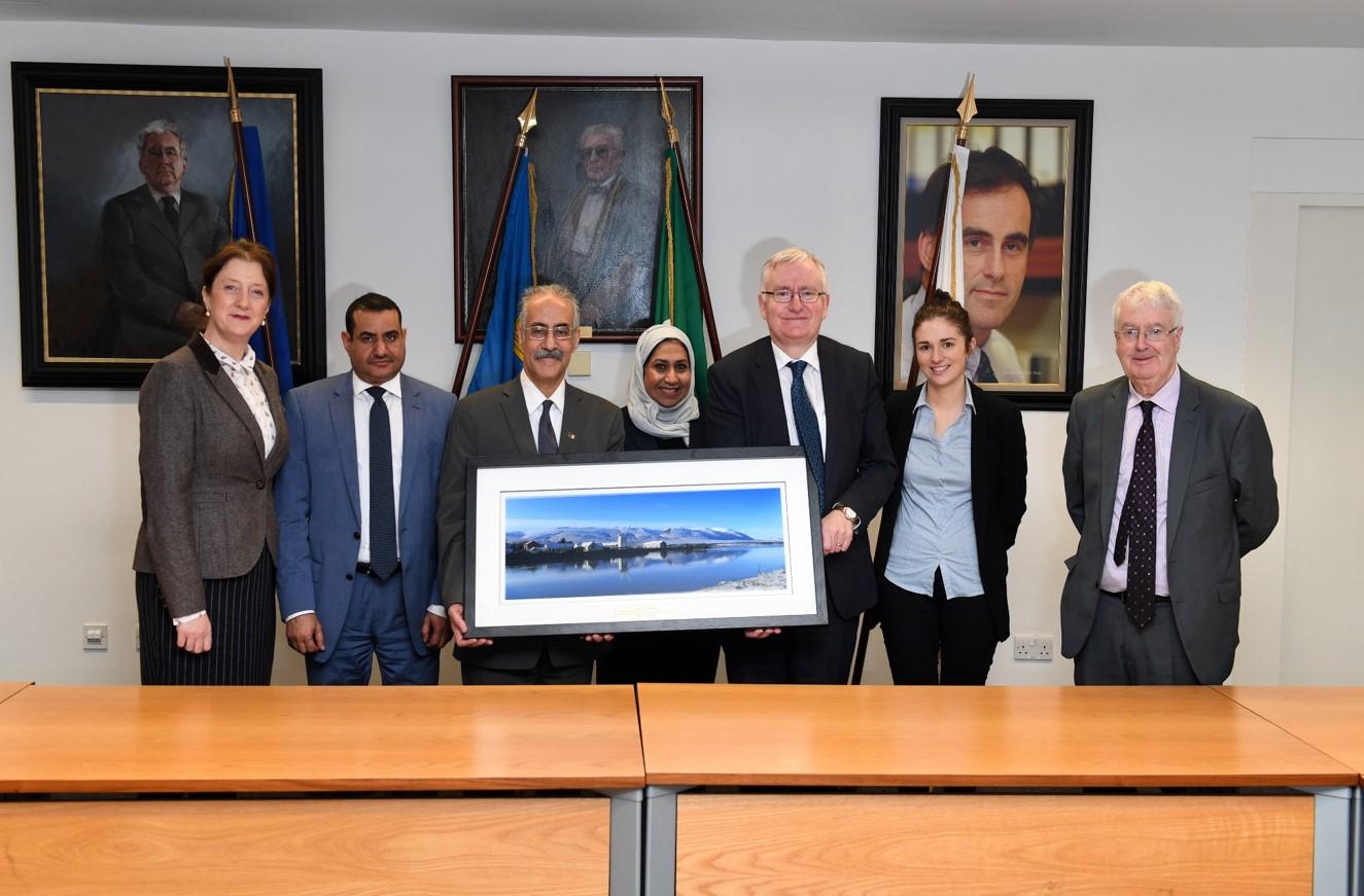 Saudi Cultural Bureau Visit