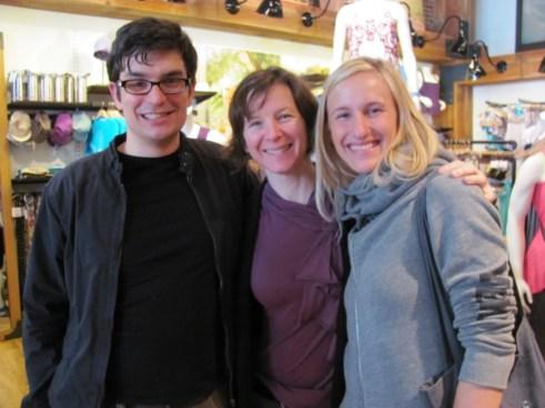 Fitsugar Editor | Hannah Webb yoga teacher designer | Brian Castellani